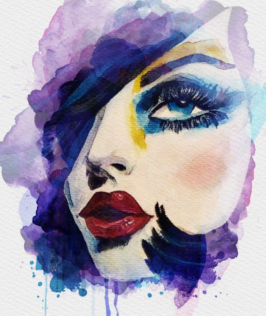 Watercolor Drawing Paint Fabercastell Painting