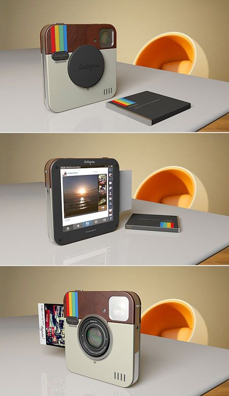 What a Real-Life Instagram Instant Camera Would Look Like