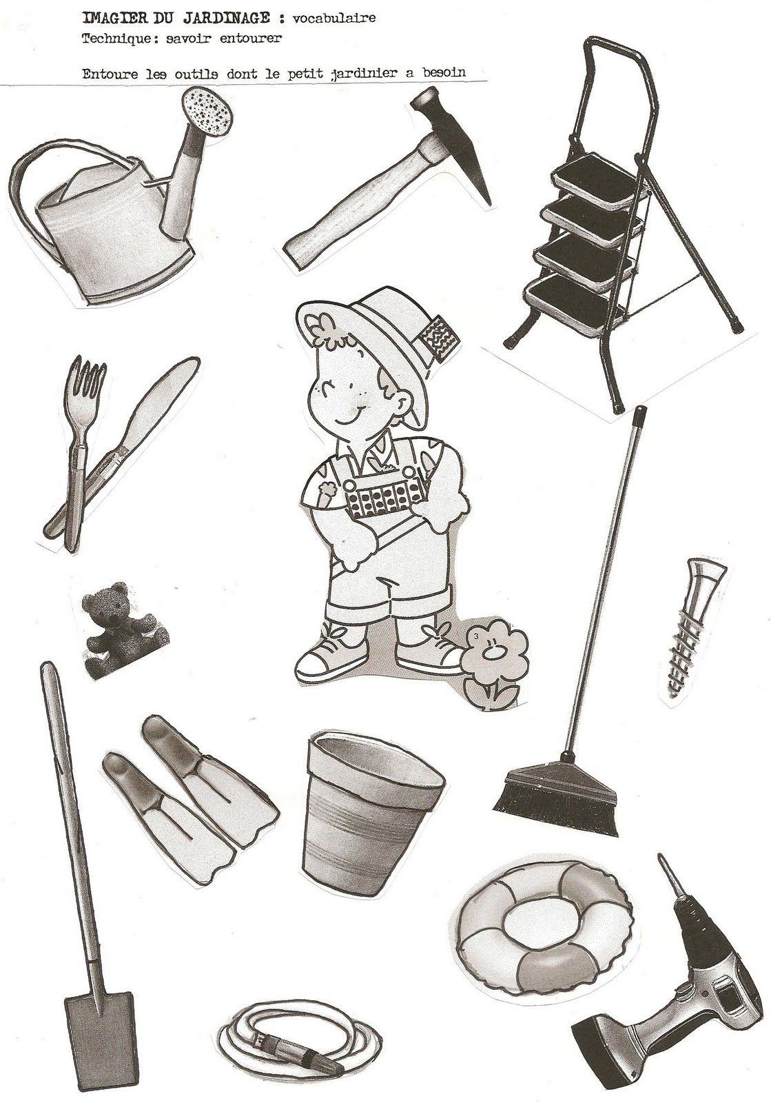 Imagier Du Jardinier Thema Tuin