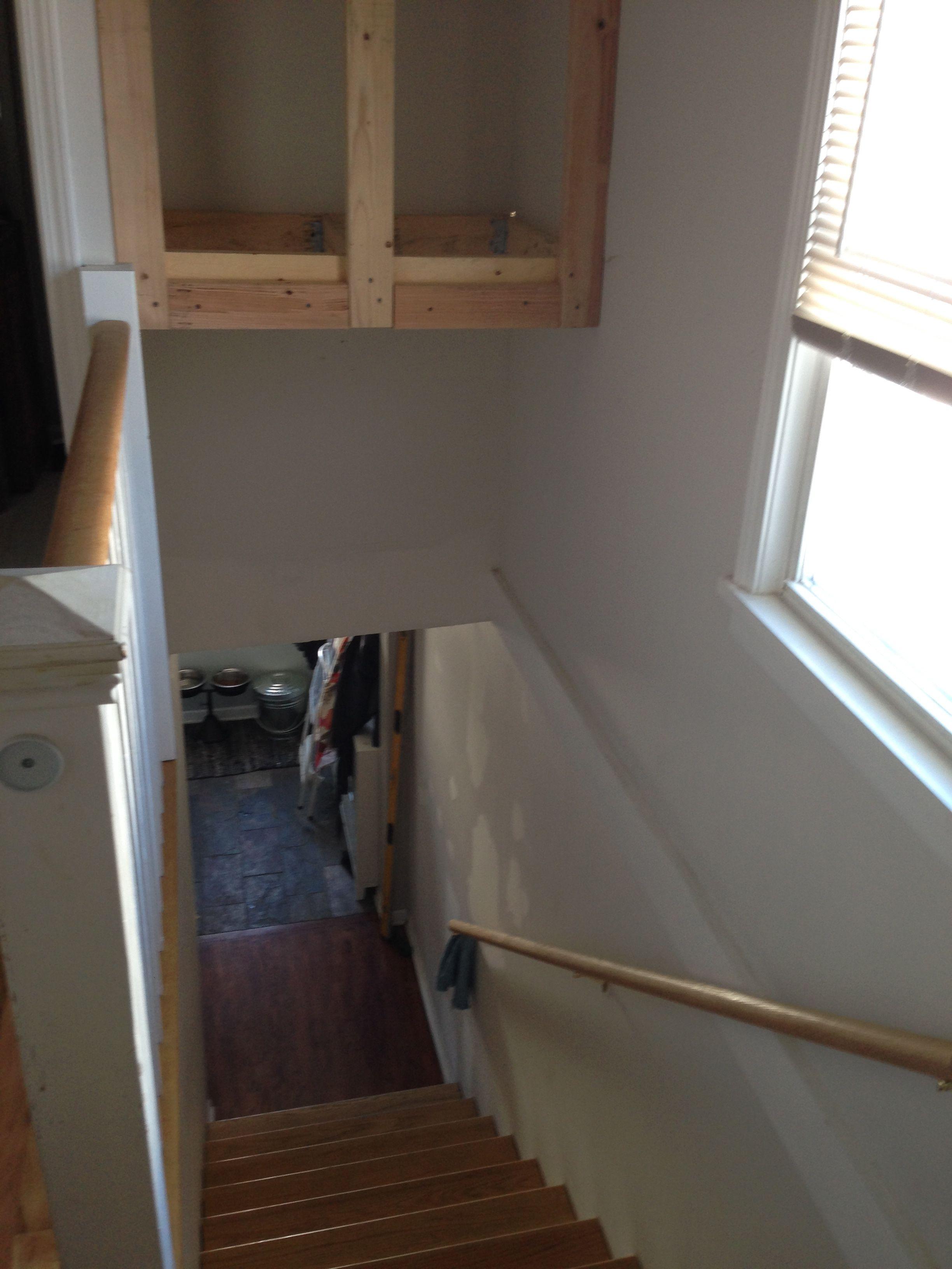 Best Stairway Bulkhead Stairway Storage Over Stairs Storage 400 x 300
