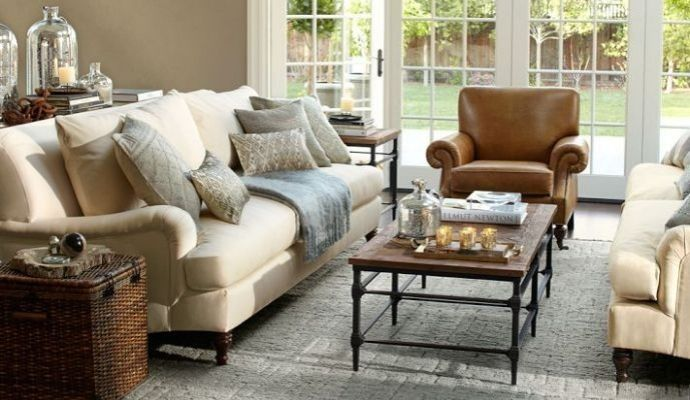Pottery barn carlisle collection minus coffee table plus oriental rug also best furniture images on pinterest couches living room and canapes