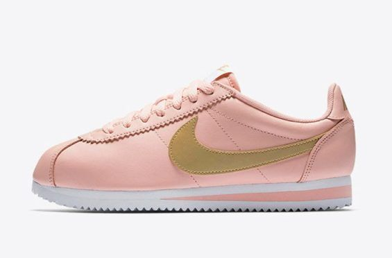 official photos 82ac8 107a6 This Women s Nike Cortez Comes In Arctic Orange And Metallic Gold