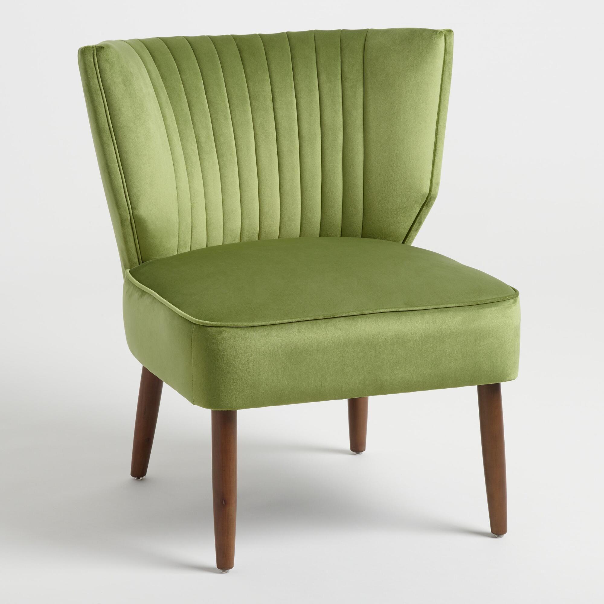 Green channel back bretta chair by world market