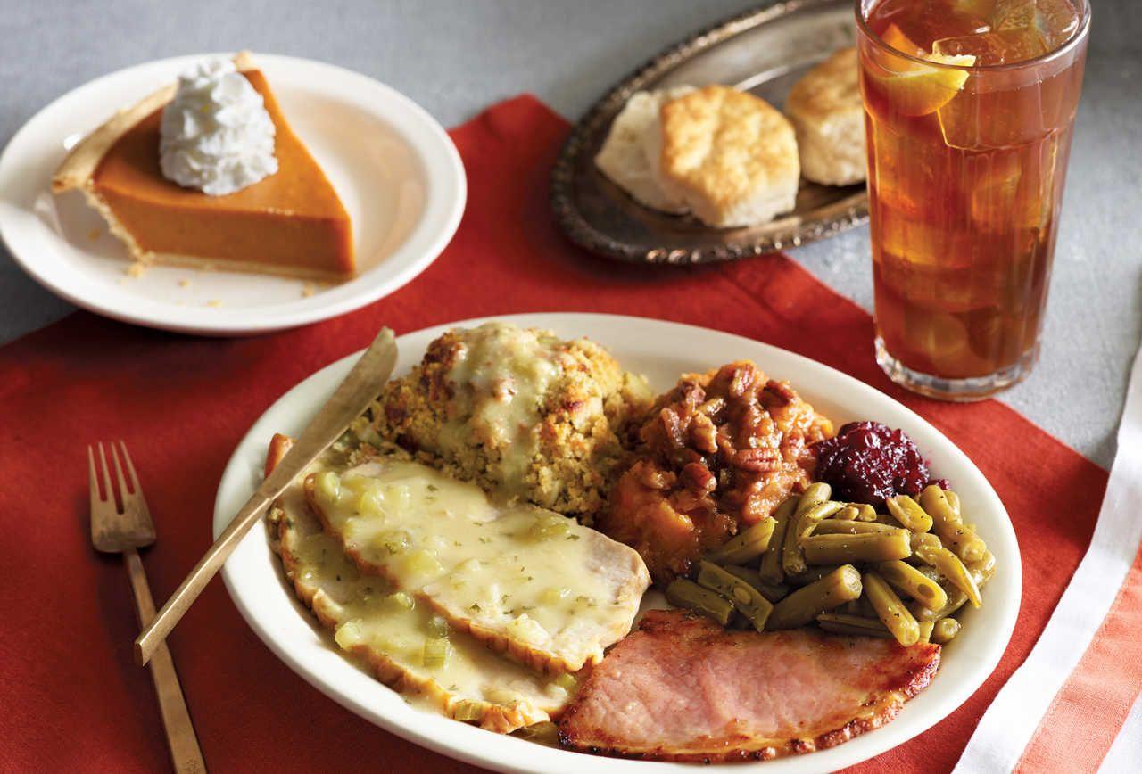 At Cracker Barrel Thanksgiving Comes But Once A Week Dressing Recipes Thanksgiving Thanksgiving Dinner Turkey Gravy Recipe
