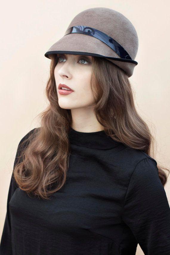 5371373ef4884 The Serena Felt Hat Womens Classic Mink Colour Deep Brim Hat ...