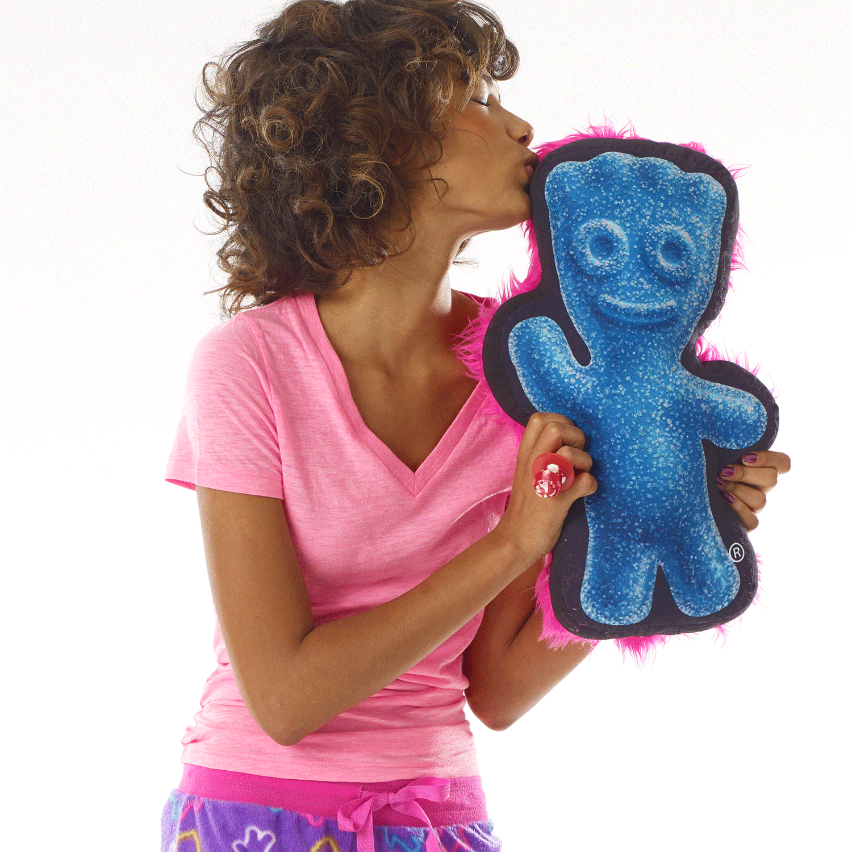 Sour Patch Kids R Blue Graphic Pillow Alyshah Christmas Birthday
