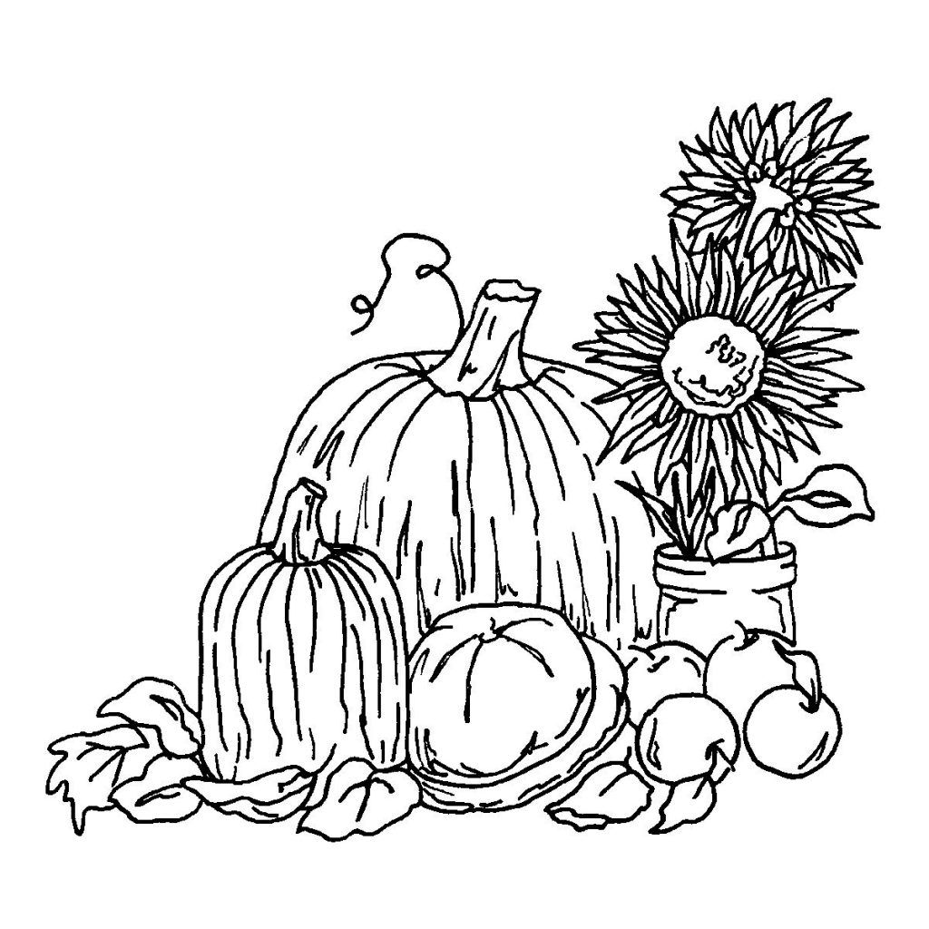 Harvest Coloring Pages Fall Coloring Pages Coloring Pages Fall