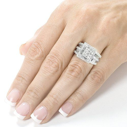 Black Diamond Engagement Rings On Finger 5