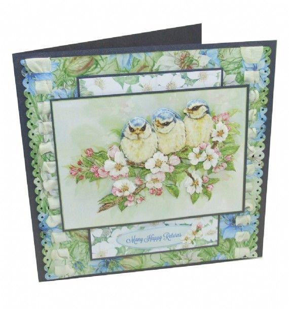 Jayne Netley Mayhew Spring Decoupage - Card 6 - Joanna Sheen Project