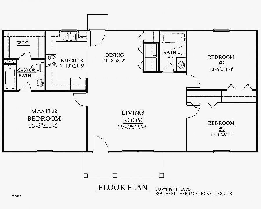 20 X 40 House Plans 800 Square Feet Ranch House Plans 20x40 House Plans House Plans One Story