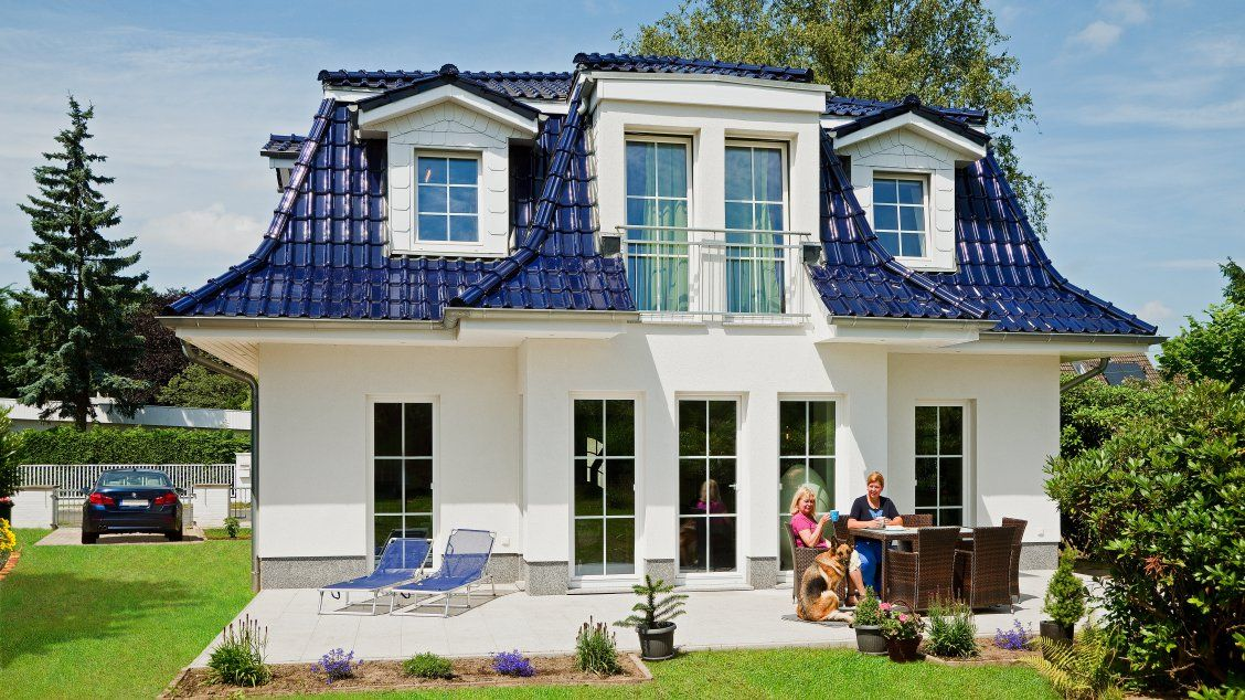 Exklusive Hauser Haus Fohr 158 Gartenansicht Haus Haus Bauen Style At Home