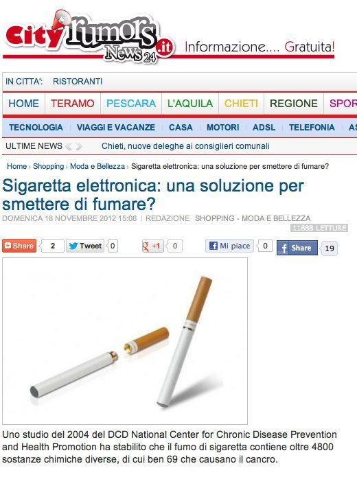 Chat in italiano per smettere di fumare