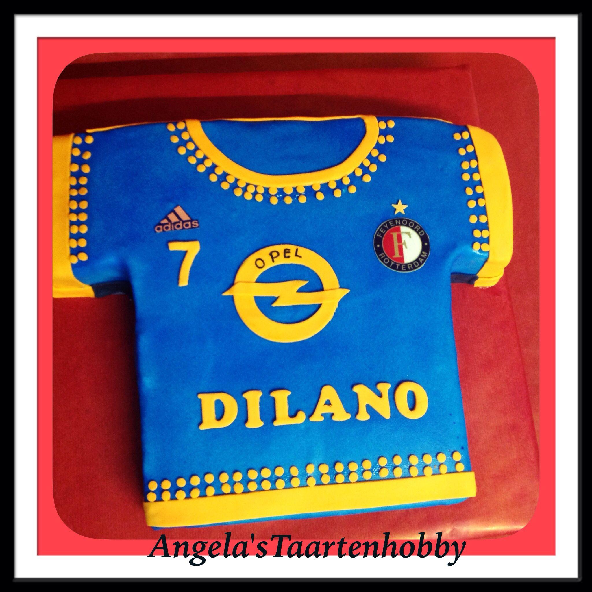 Feyenoord uit shirt