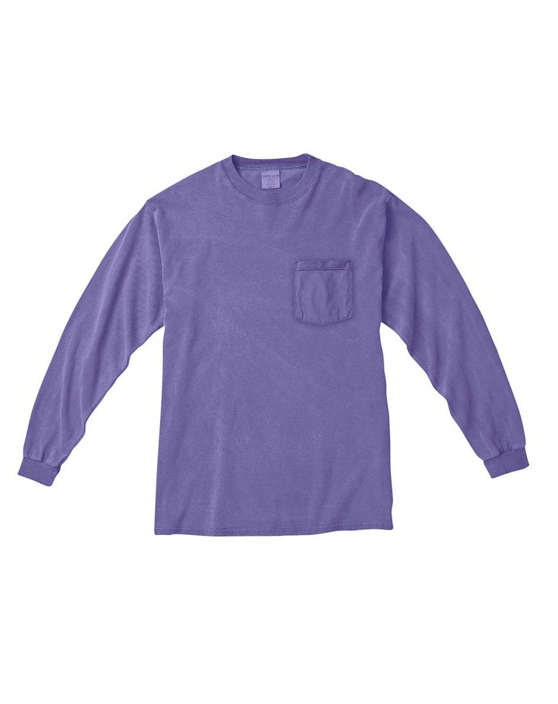 Comfort Colors C4410 Long Sleeve Pocket T Shirt Wholesale