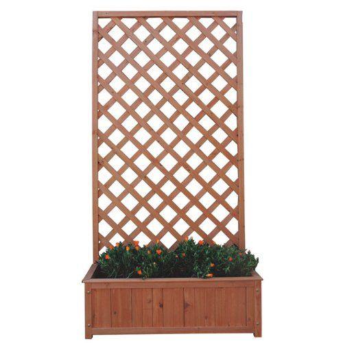 pingl par florence jaquot buguet sur jardin terrasse pinterest fleurs en bois treillis et bac. Black Bedroom Furniture Sets. Home Design Ideas