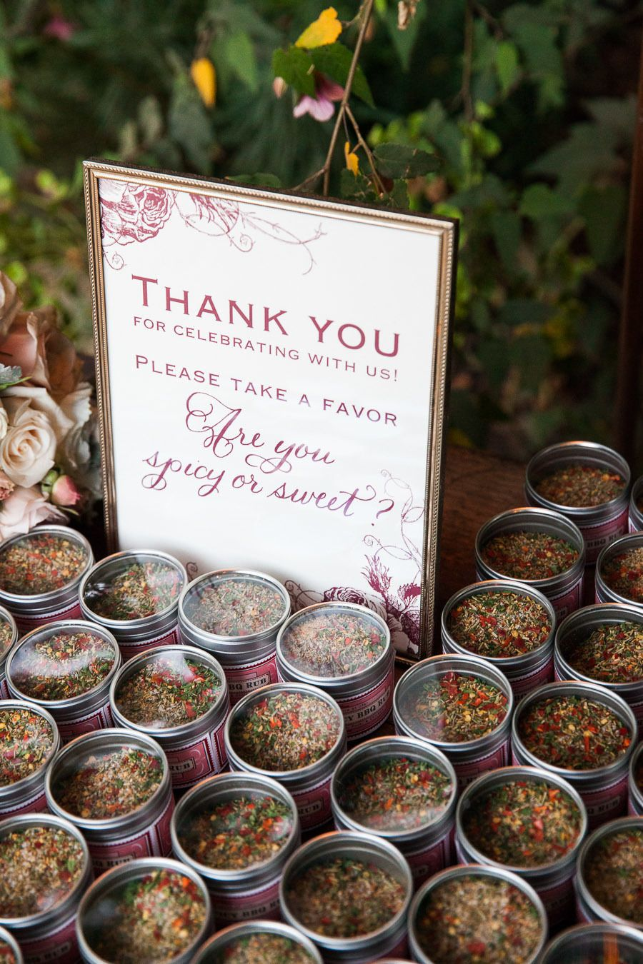 Spices | Favours, Wedding and Bridal showers