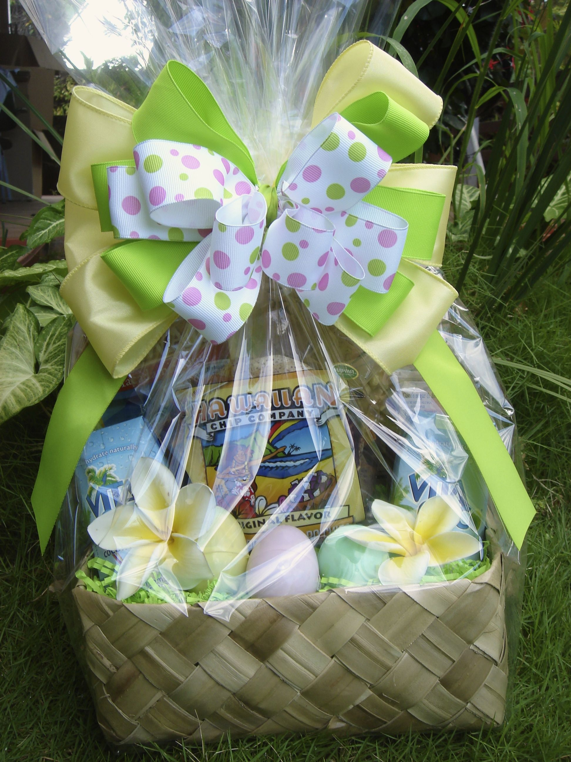 Enjoy paradise tropical easter theme happy easter from we offer gourmet hawaiian gift baskets with gifts from hawaii for special occasions conventions and cruise ships negle Gallery