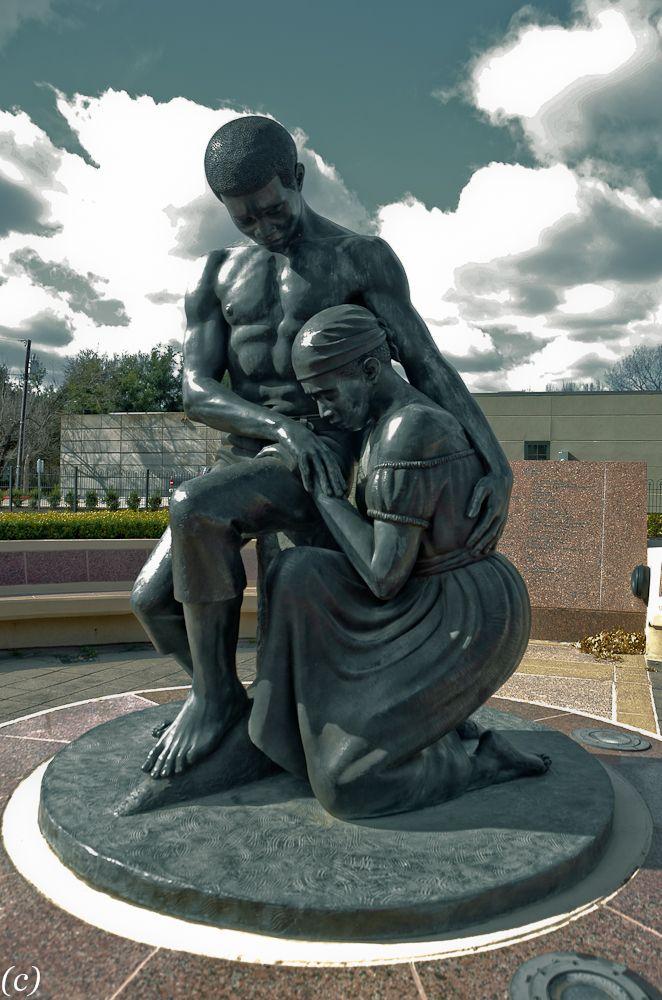Freedman Cemetery. David Newton Sculptor. Dallas.   For ...  Statues