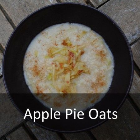 Healthy Apple Pie Oats