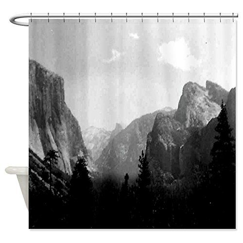 CafePress  Yosemite valley Shower Curtain  Decorative Fabric Shower Curtain ** You can get more details by clicking on the image.