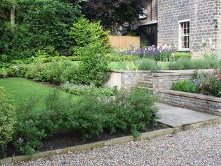 Garden Complete Garden Design And Landscaping In Roundhay Leeds Yorkshire Back Garden Design Garden Makeover Garden Design