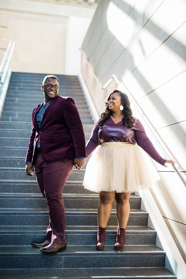 Ethereal Love in Downtown Columbus -  Ethereal Plus Size Engagement Photos in Downtown Columbus | Coley & Co Photography on Pretty Pear B - #Columbus #downtown #EngagementPhotosclassy #EngagementPhotosindian #EngagementPhotoswoods #Ethereal #formalEngagementPhotos #love #naturalEngagementPhotos #plussizeEngagementPhotos #rusticEngagementPhotos #whattowearforEngagementPhotos