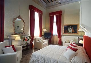 Live like a Venetian in this ancient Palace that is today a beautiful Venetian Hotel.