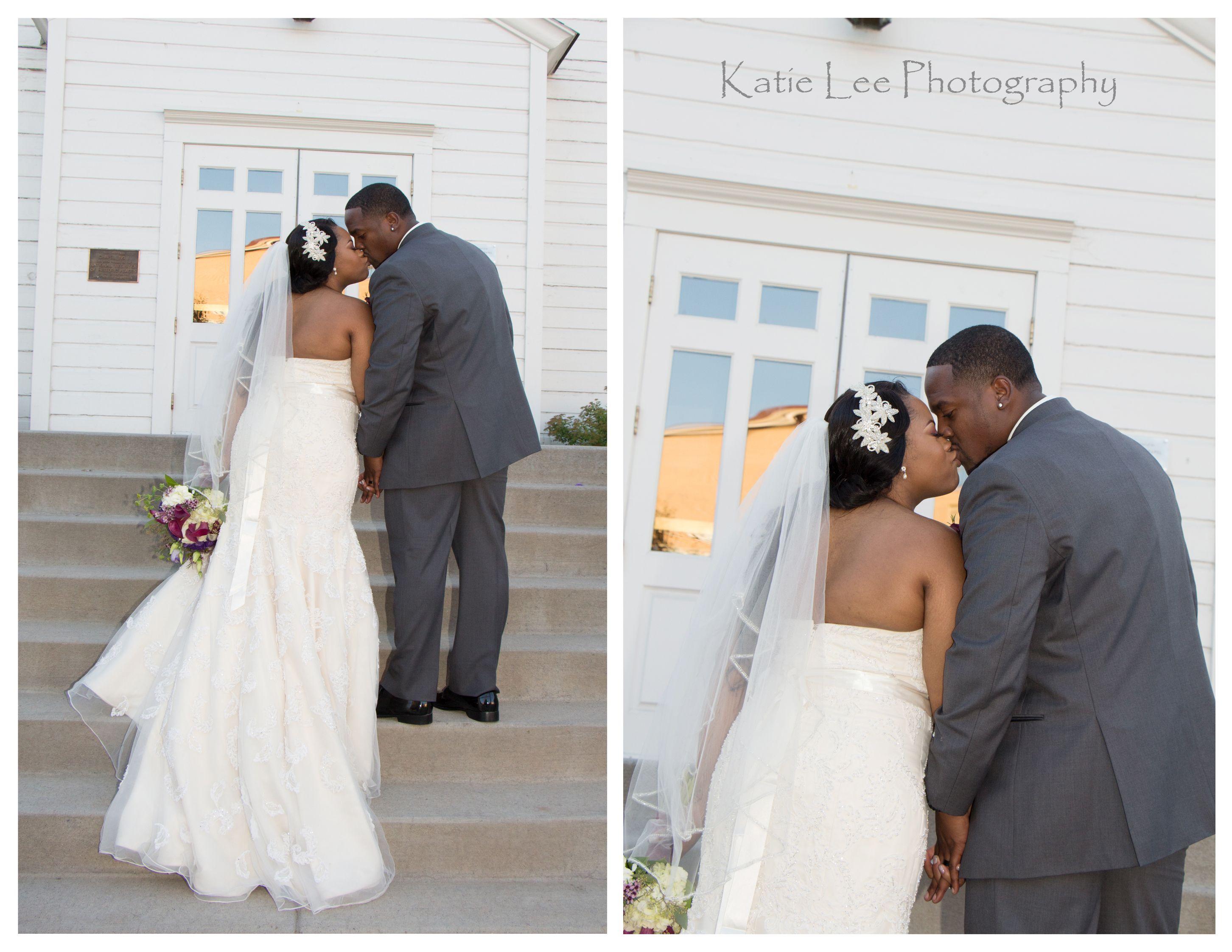 All white church wedding decor Church Wedding Bride and Groom Photo Wedding Photography