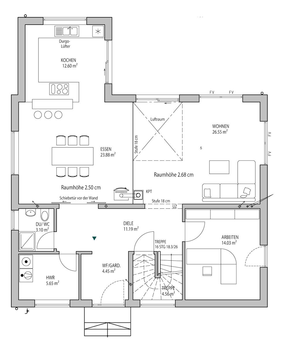 Grundriss stadtvilla 200 qm  Walmdach 179 Lux Haus | Grundrisse | Pinterest | Walmdach ...