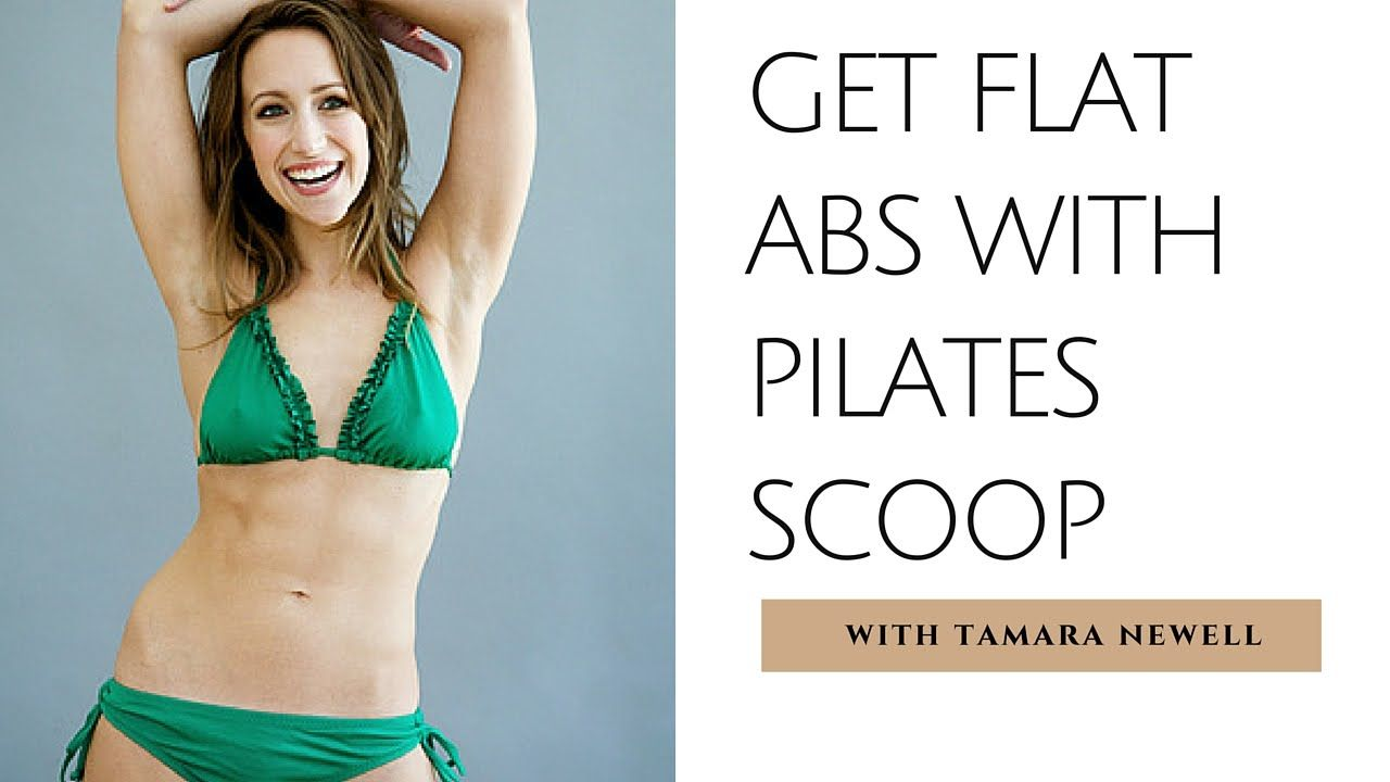 How to Scoop Abs in Pilates | Get Flat Abs with Tamara Newell