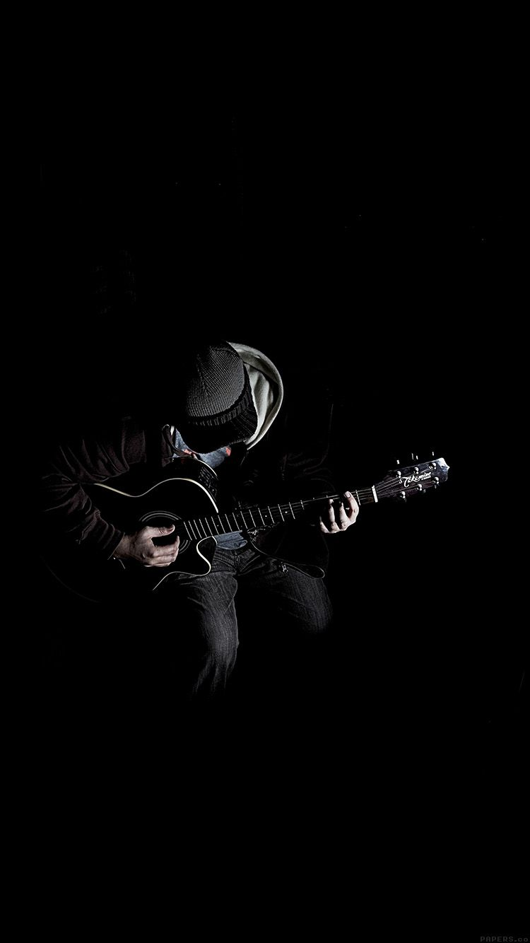 Al10 Out The Dark Guitar Player Music Dark Photography Guitar Wallpaper Iphone Musician Photography