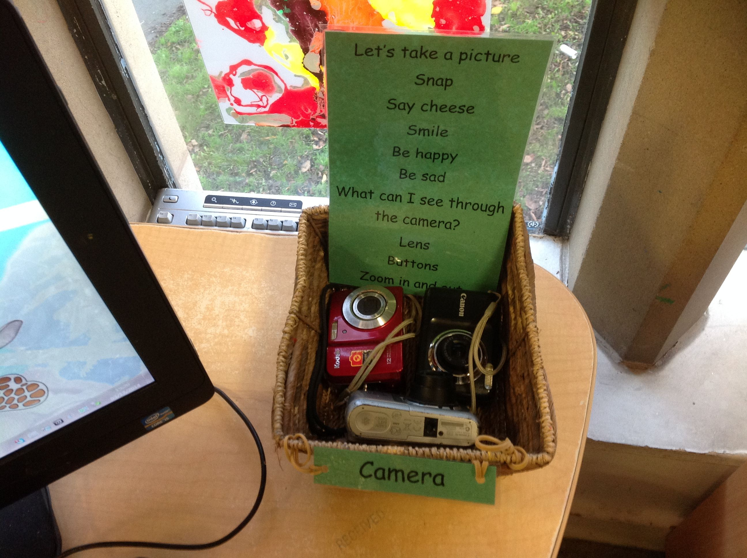 Inviting preschool children to use the cameras at KU St Marys ...