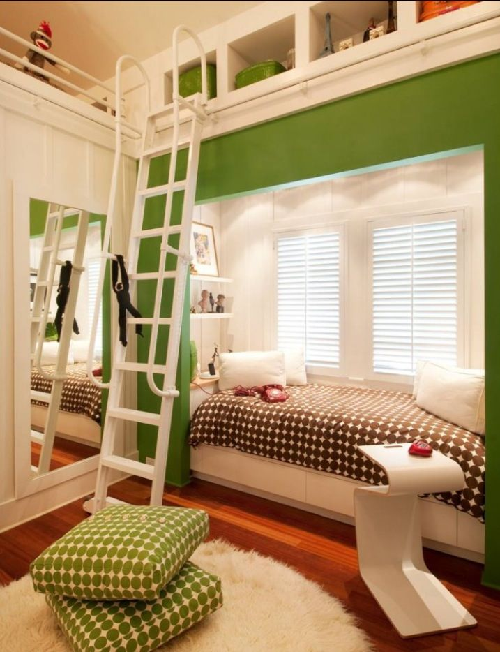 houzz bunk beds on Kid Room Idea 3 Via Houzz Awesome Bedrooms Built In Bed Gender Neutral Kids Room