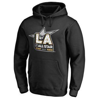 Black 2017 NHL All-Star Logo Pullover Hoodie #nhl #hockey #allstar