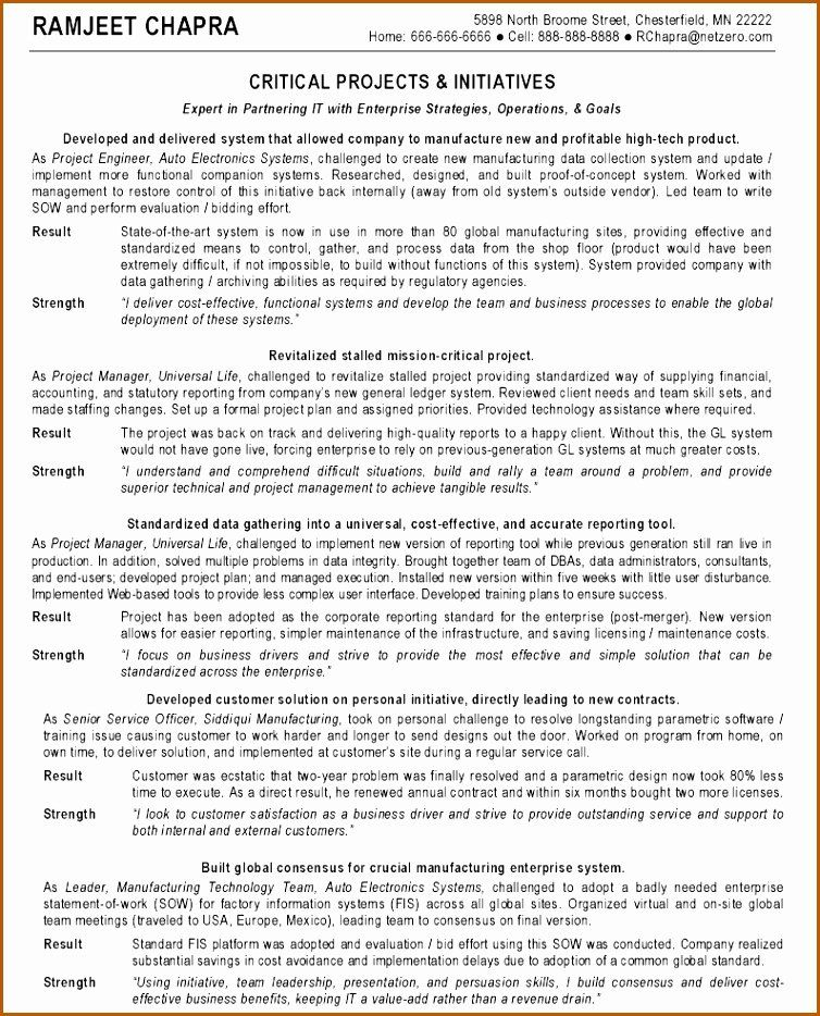 25 Project Manager Resume Sample Doc in 2020 Marketing