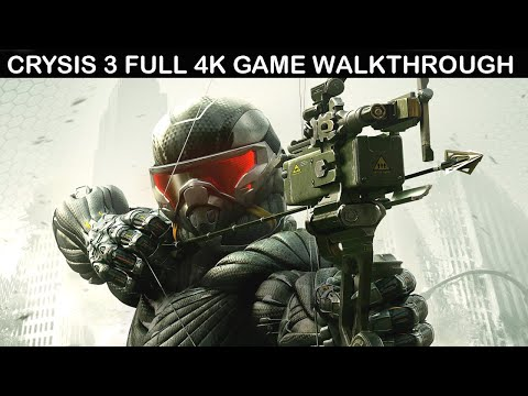 Crysis 3 Full Game Walkthrough No Commentary 4k 60fps Youtube Crysis Series Movie Character Wallpaper Movie Game