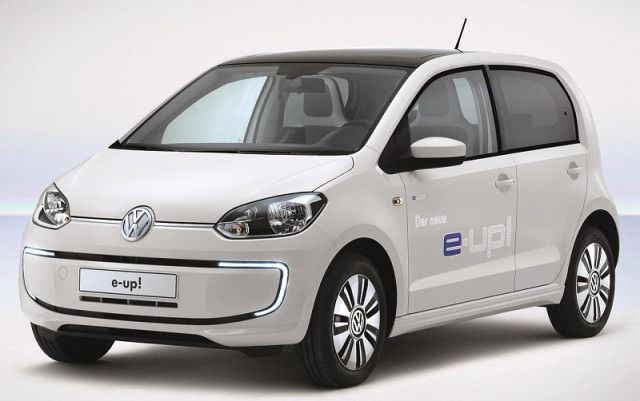 New Version Of Volkswagen S Multi Award Winning E Up Electric Car