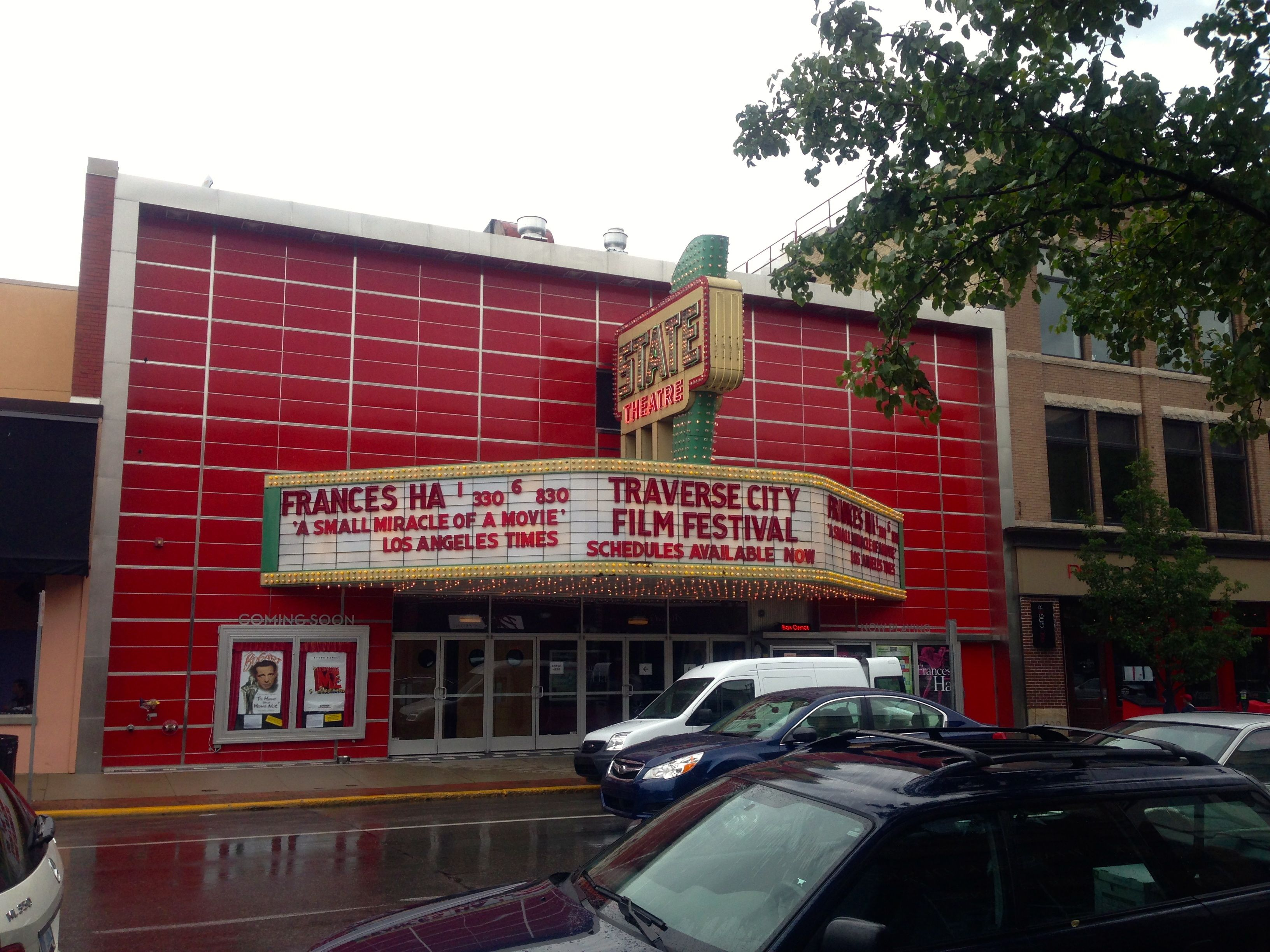 Movie festival in downtown traverse city frances ha