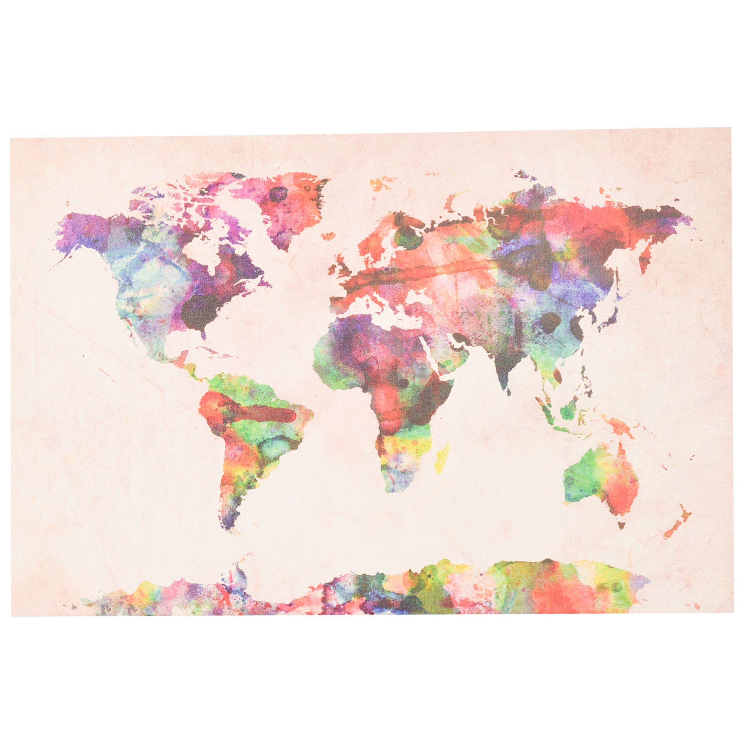Michael tompsett urban watercolor world map art products michael tompsett urban watercolor world map art publicscrutiny Image collections