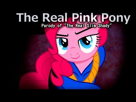 "The Real Pink Pony Parody of ""The Real Slim Shady"" 1 Hour - YouTube"