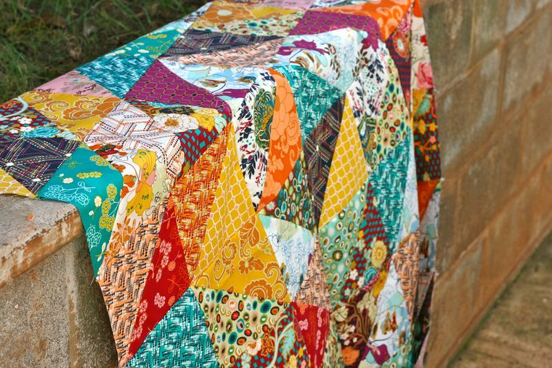 amazing Indie quilt by One Shabby Chick