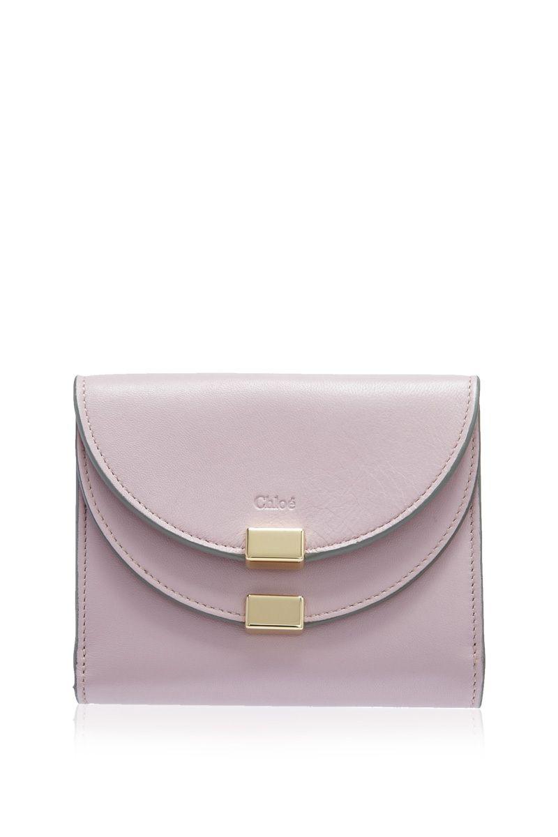 59832f576d CHLOÉ - Chloé Georgia Short Flap Wallet