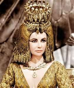 Cleopatra in gold
