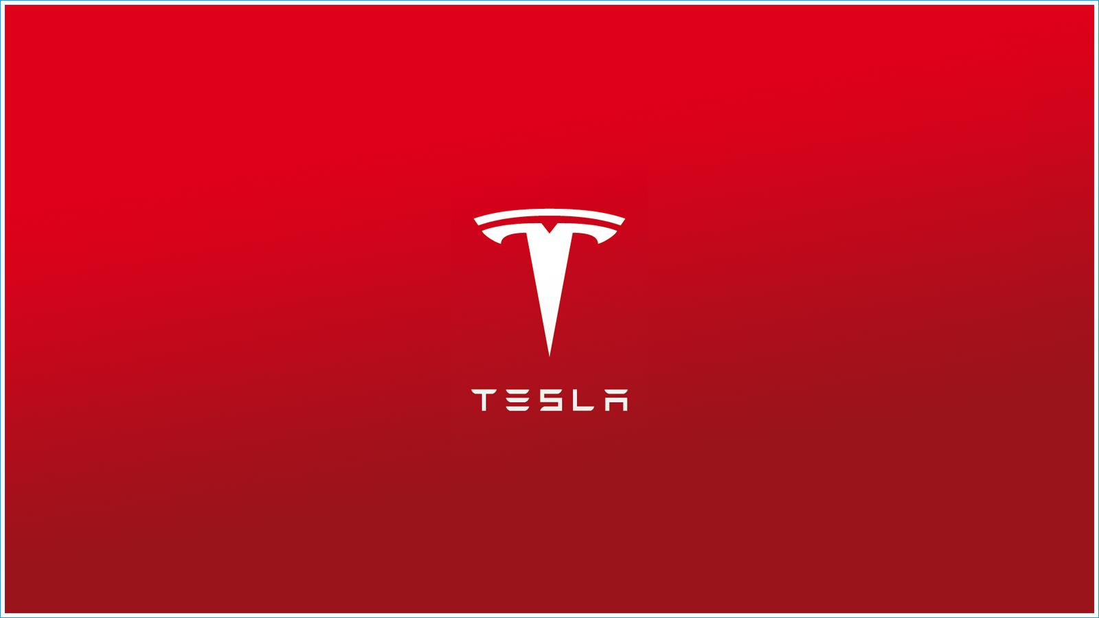 La couleur du Logo de Tesla Motors Tesla motors, Marque