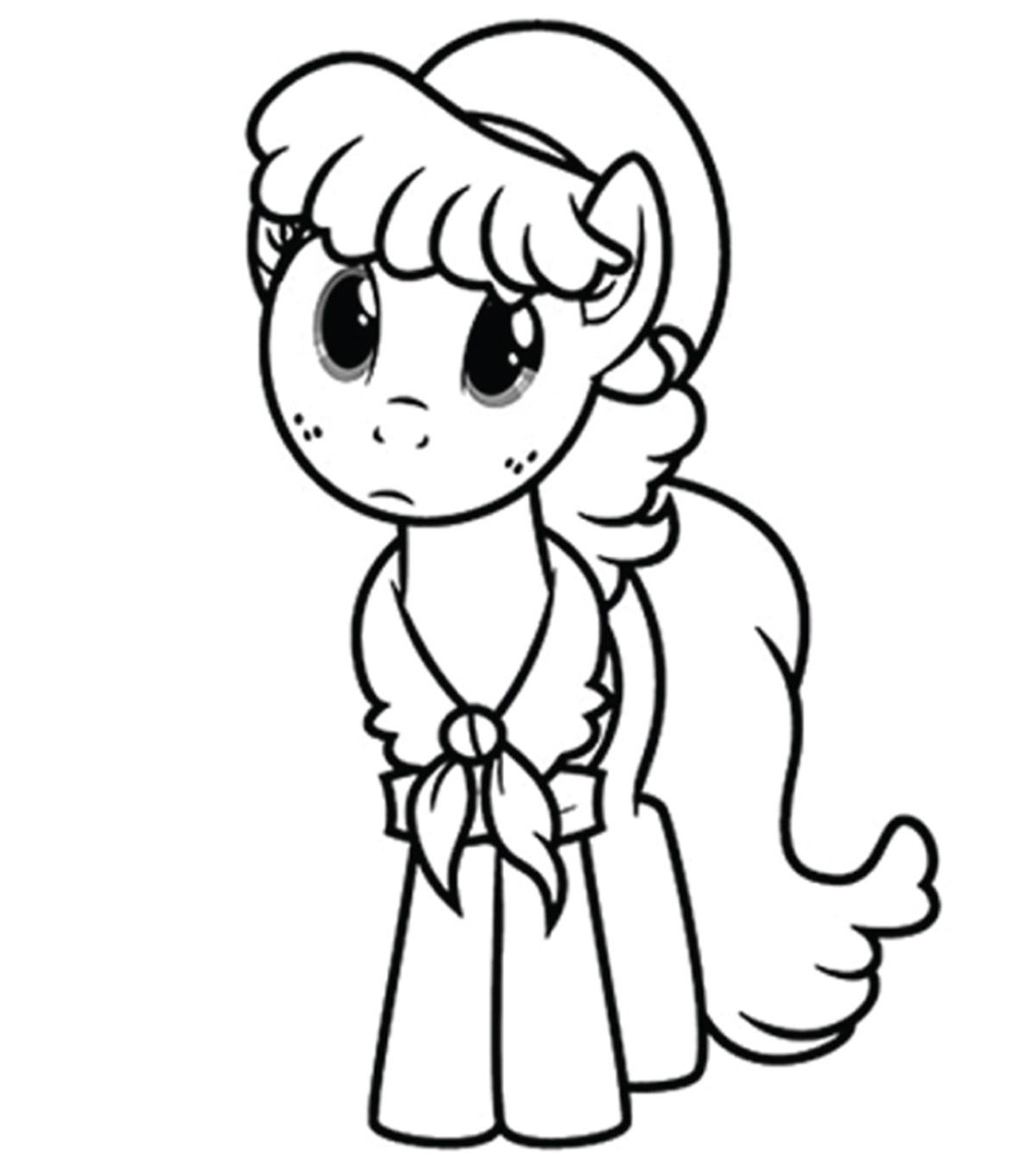 My Little Pony Coloring Pages For Kindergarten