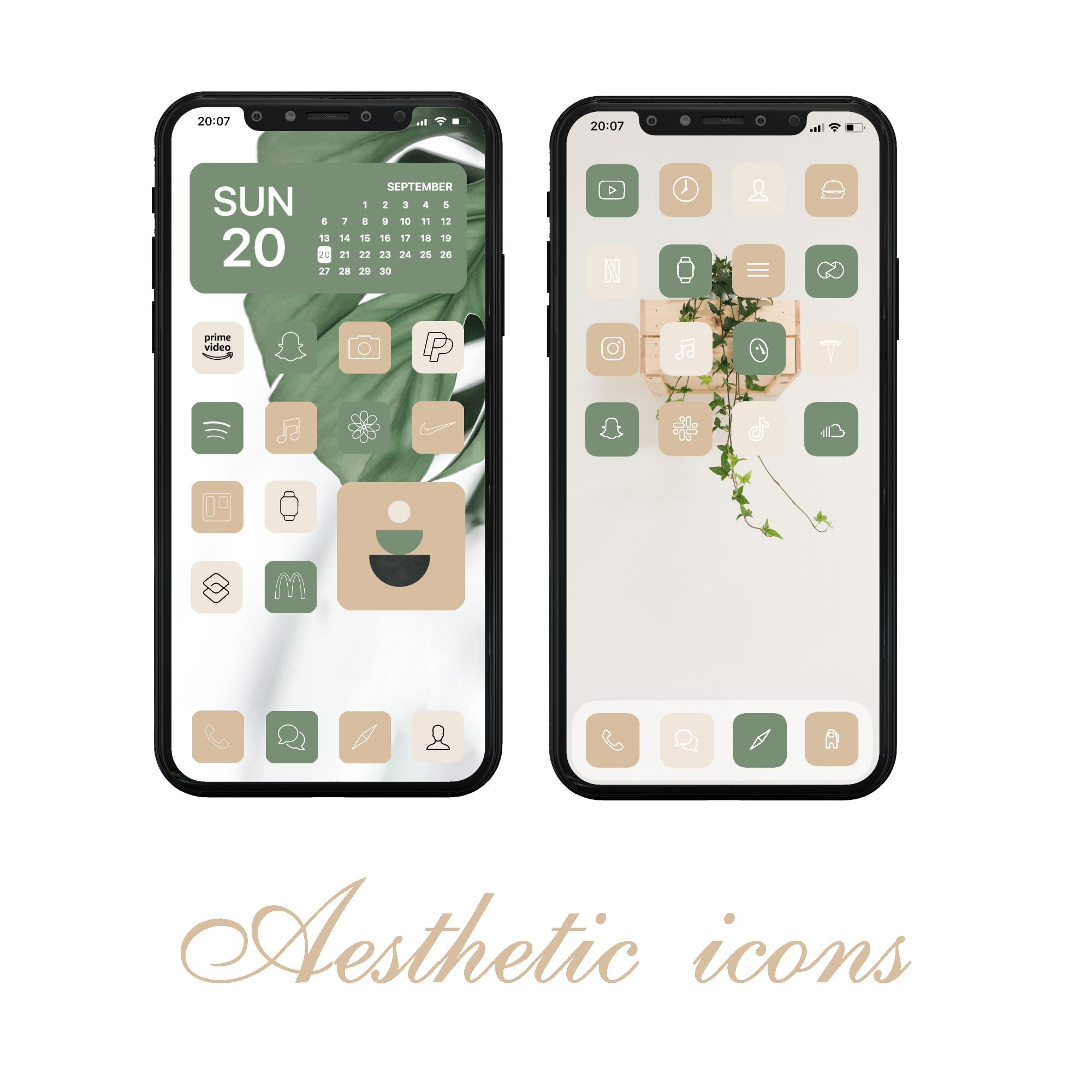 Warm neutrals aesthetic app icons. 500+ Neutral boho App Icons, Ios 14 icons, Neutral Beige ...