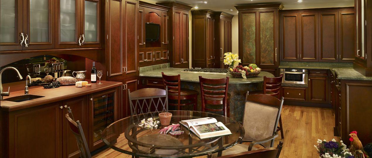cocinas clasicas de lujo inspiración de diseño de interiores