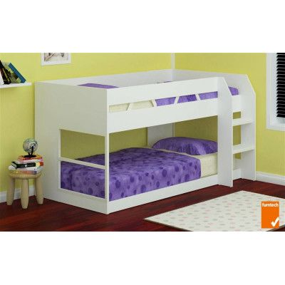 Z1 Low Line Single Bunk Bed White Kids Rooms Pinterest