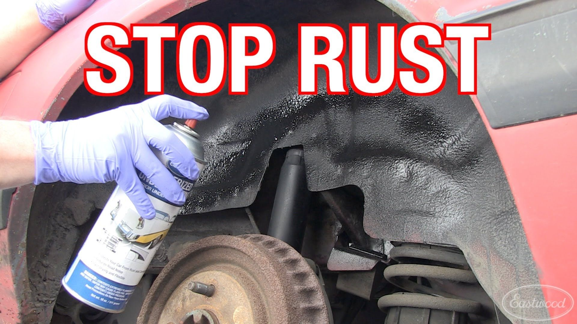 How to prevent treat and eliminate rust on rd corner