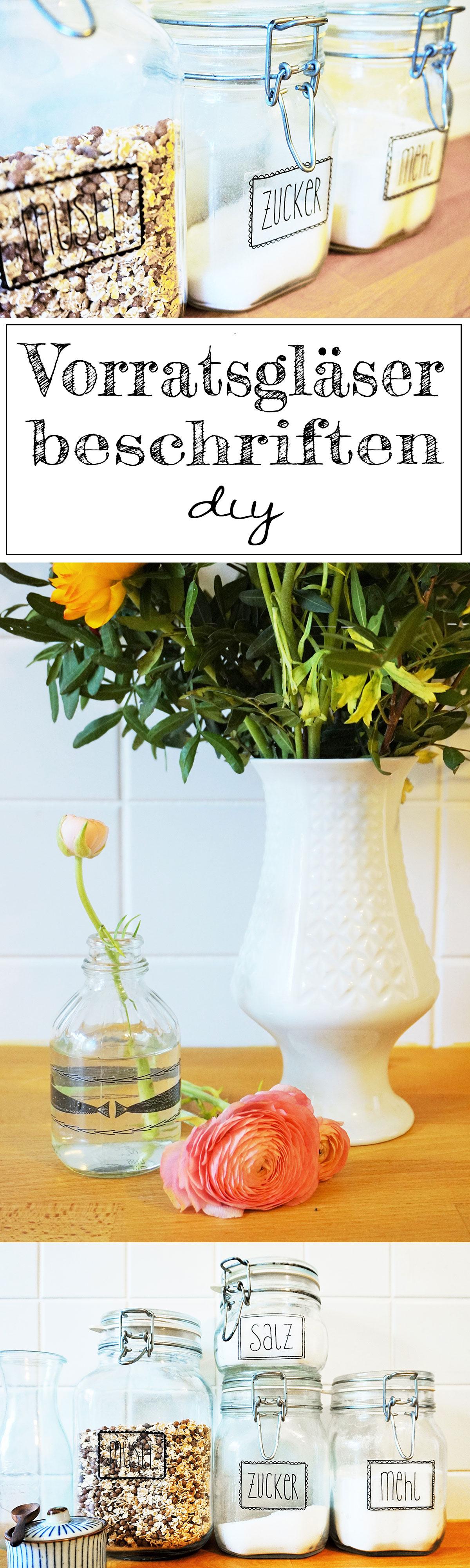 diy labels f r vorratsgl ser und vasen selber machen german blogger diy glas. Black Bedroom Furniture Sets. Home Design Ideas